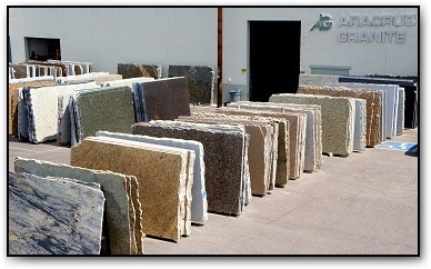 Our Warehouse Contains 200 Colors Of Granite, Marble, Travertine, Onyx,  Soapstone And