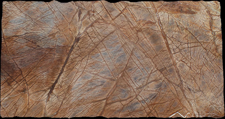 Rainforest Brown Granite : Rainforest brown