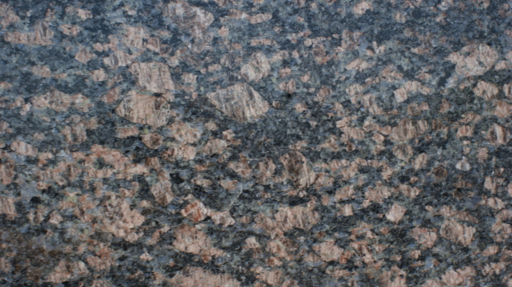 English Brown Granite : Sapphire blue english brown